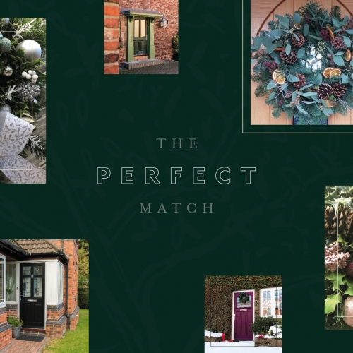 A perfect match. Picking a wreath that compliments your choice of door. Product Image
