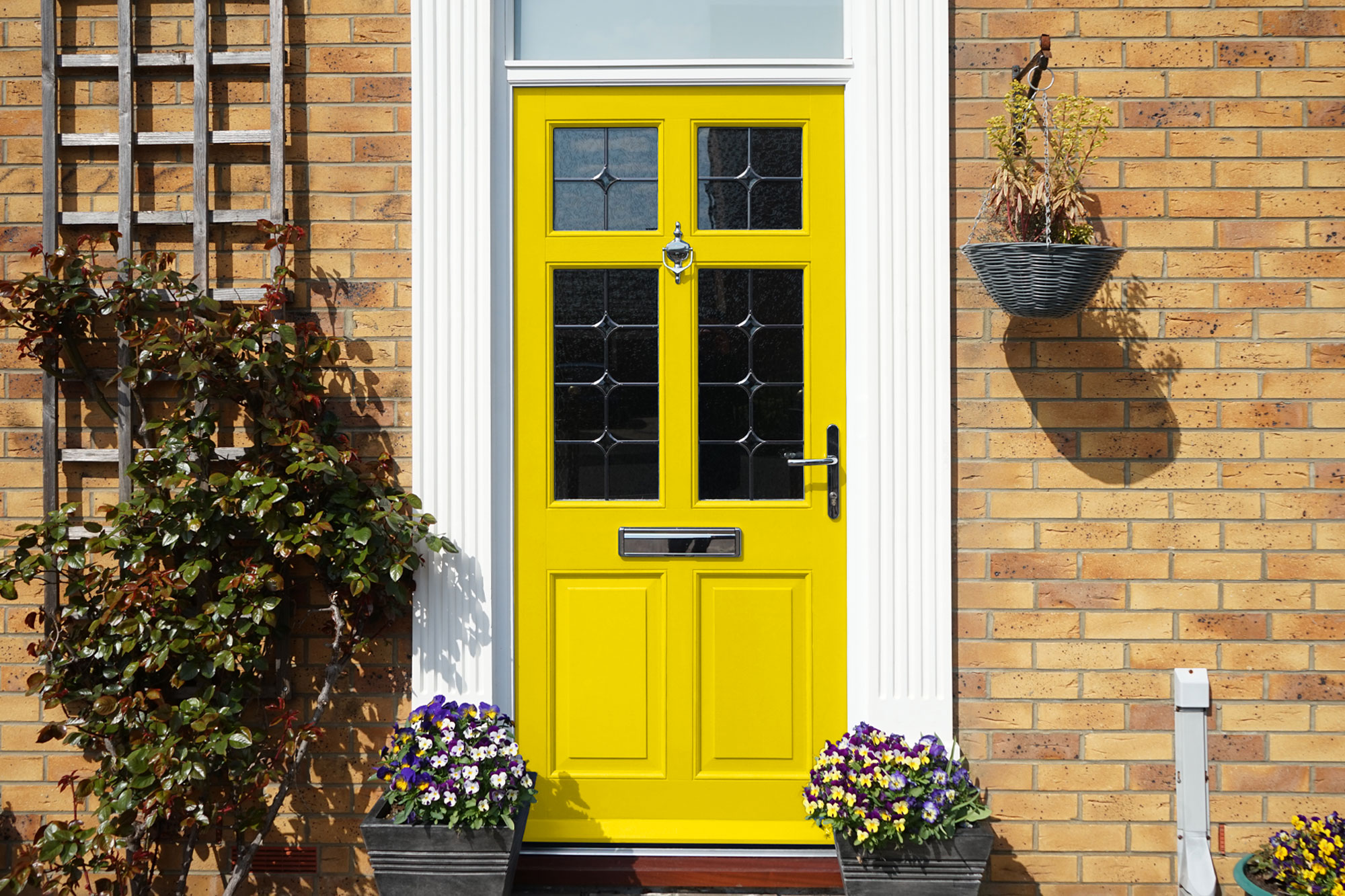 The colour experts Choosing an entrance door colour that shows off your personality